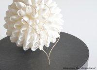 【14KGF】Earrings,Simple Heart