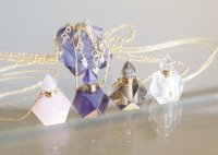 【Bottle No:1-4/8,10】 Gem Bottle Long Necklace-Aromaoil/Perfume-