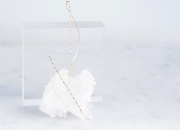 画像2:  【Minimalism】14KGF Earrings,Spiral -A-