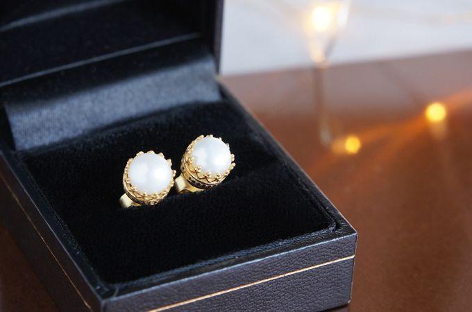 画像3: 【Silver925】Genuine Pearl  Stud Earrings