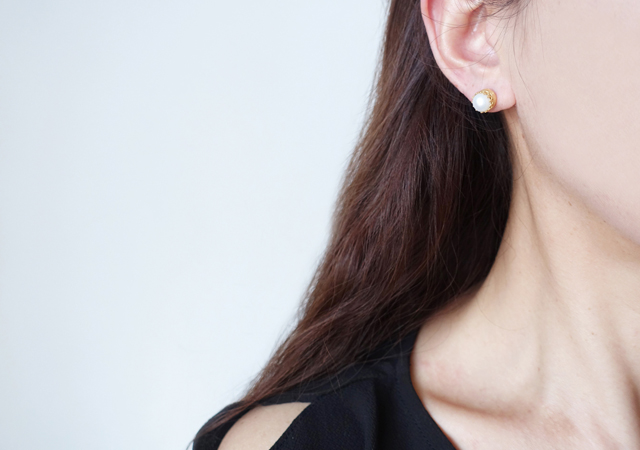 画像5: 【Silver925】Genuine Pearl  Stud Earrings