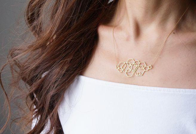 画像4: 【Israel】14KGF Necklace,Abstract-003-