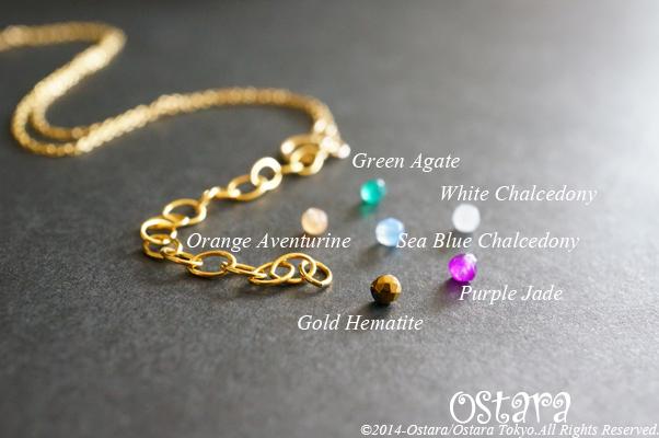 画像4: 【Tsubomi】14KGF Bracelet-Purple Pearl-