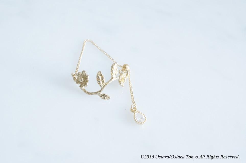 画像3: Adjustable Flower CZ Ring