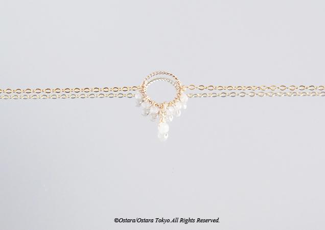 画像4: 【14KGF】Raw Diamond Bracelet/Anklet