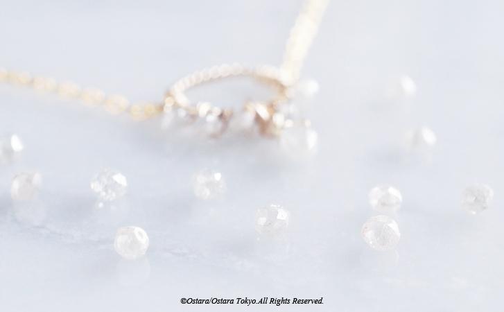 画像5: 【14KGF】Raw Diamond Bracelet/Anklet
