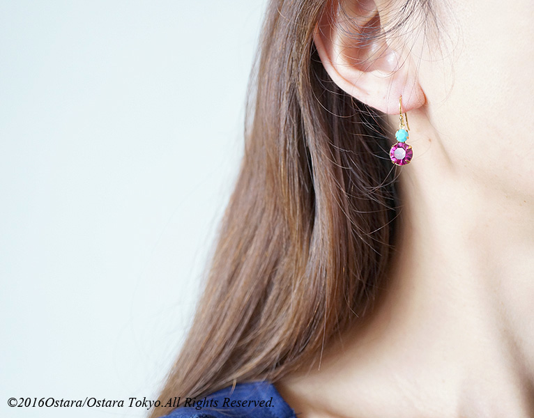 画像3: 【14KGF】 Rock Candy/Fuchsia&Turquoise