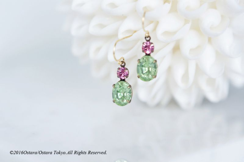 画像1: 【14KGF】 Rock Candy/Chrysolite&Rose Pink